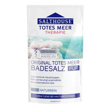 Salthouse Naturalna sól do kąpieli z morza martwego łagodząca objawy zrogowaciałej skóry 500g