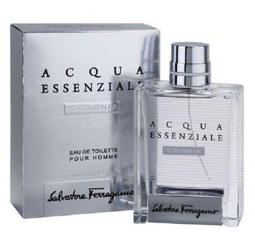 Salvatore Ferragamo Acqua Essenziale Colonia Pour Homme woda toaletowa spray 100ml