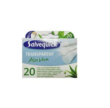 Salvequick plastry Aloe Vera transparentne 1 op. - 20 szt.
