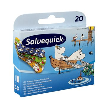 Salvequick plastry dla dzieci Muminki 1 op. - 20 szt.