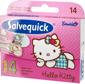 Salvequick plastry Hello Kitty dla dzieci 1 op. - 14 szt.