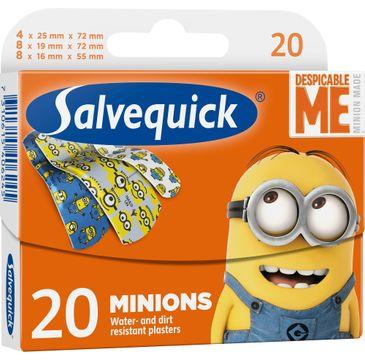 Salvequick plastry Minions dla dzieci 1 op.- 20 szt.