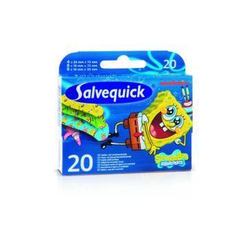 Salvequick plastry Sponge Bob dla dzieci 1 op. - 20 szt.