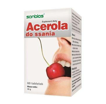 Sanbios Acerola do ssania suplement diety 60 tabletek