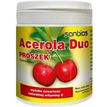 Sanbios Acerola Duo proszek suplement diety 200g