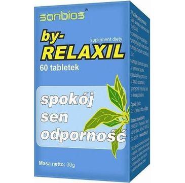 Sanbios By-Relaxil spokój sen odporność suplement diety 60 tabletek