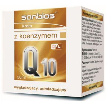 Sanbios Krem z Koenzymem Q10 wygładzający odmładzający 50ml