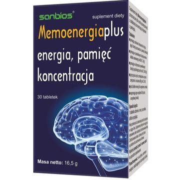 Sanbios Memoenergia suplement diety 30 tabletek