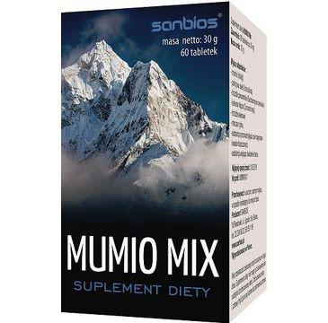 Sanbios Mumio Mix suplement diety 60 tabletek