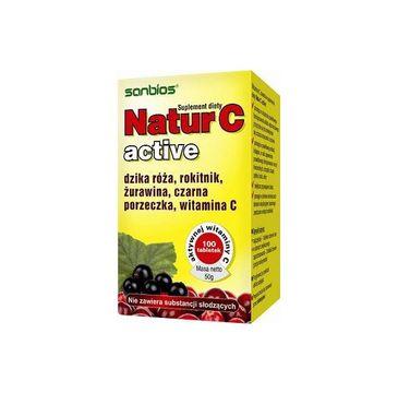 Sanbios Nature C Active suplement diety 100 tabletek