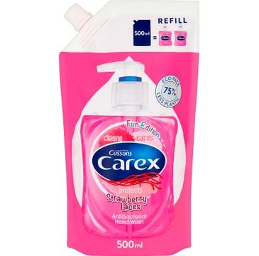 Carex – mydło w płynie Strawberry  Candy zapas (500 ml)