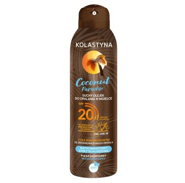 Kolastyna – Coconut Paradise Suchy olejek do opalania spray SPF20 (150 ml)