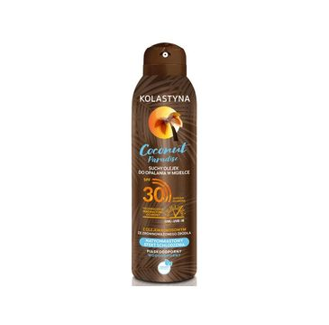 Kolastyna – Coconut Paradise Suchy olejek do opalania spray SPF30 (150 ml)