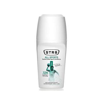 STR8 All Sports roll-on antyperspirant w kulce (50 ml)