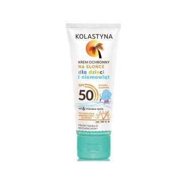 Kolastyna Krem ochronny dla dzieci i niemowląt SPF50 (75 ml)