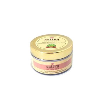 Sattva – Ayurveda ziołowy krem przeciw niedoskonałościom (50 g)