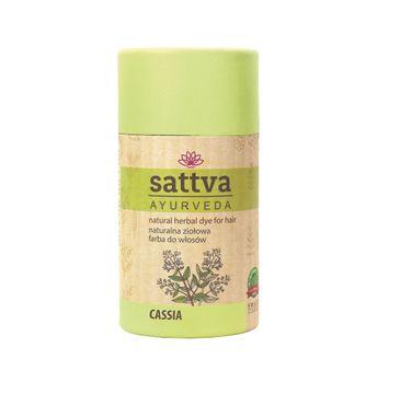 Sattva Natural Herbal Dye for Hair naturalna ziołowa farba do włosów Cassia (150 g)