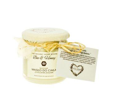 Scandia Bee&Honey masło do ciała z miodem i polskimi ziołami 200ml