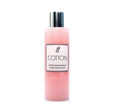 Scandia Cotton żel do mycia twarzy z olejem bawełnianym 200ml
