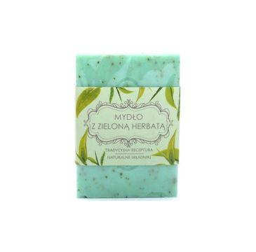 Scandia Mydło z Zieloną Herbatą w kostce 250g