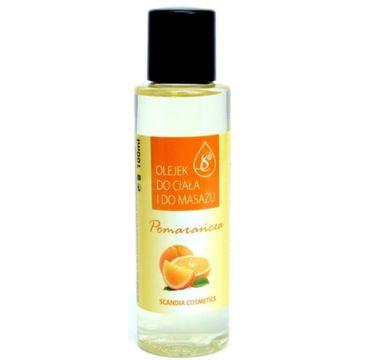 Scandia Olejek do ciała i do masażu Pomarańcza 100ml