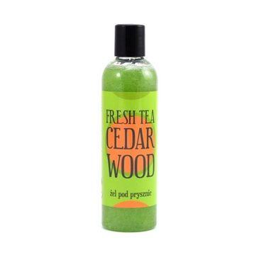 Scandia Żel pod prysznic Fresh Tea Cedar Wood 250ml