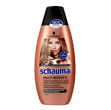 Schauma Multi Repair 6 szampon do włosów zniszczonych 400 ml