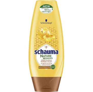 Schauma Nature Moments odżywka do włosów słabych i delikatnych miód i figa 200 ml