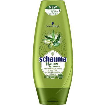 Schauma Nature Moments odżywka do włosów zniszczonych oliwa i aloes 200 ml