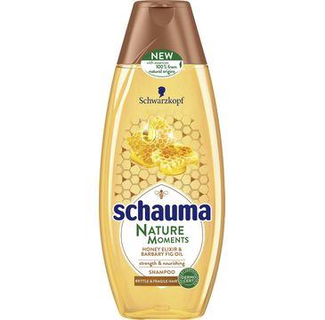 Schauma Nature Moments szampon do włosów słabych i delikatnych miód figa 400 ml