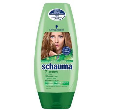 Schauma odżywka do włosów przetłuszczających się 7 Herbs 200 ml