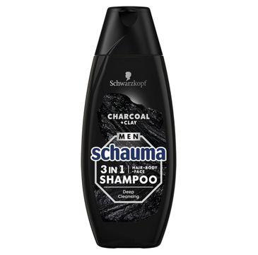 Schauma – szampon Charcoal dla mężczyzn (400 ml)
