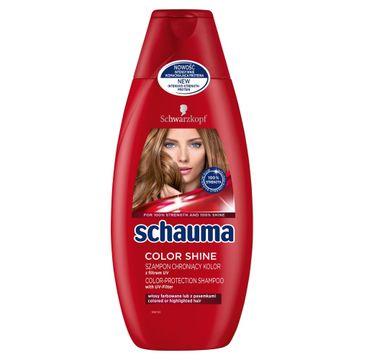 Schauma szampon do włosów farbowanych ochrona koloru 400 ml