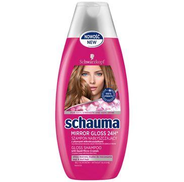 Schauma szampon do włosów matowych nabłyszczający 400 ml