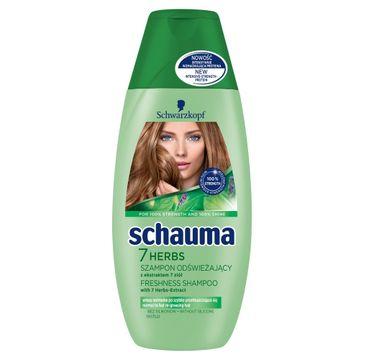 Schauma szampon do włosów przetłuszczających się 7 ziół 250 ml