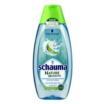 Schauma szampon do włosów suchych woda kokosowa i lotos 200 ml