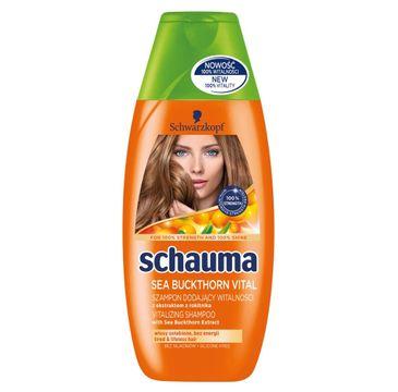 Schauma szampon do włosów zniszczonych rewitalizujący 250 ml