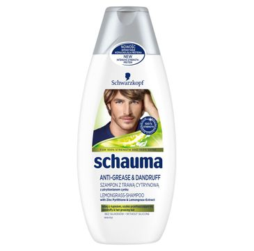 Schauma szampon przeciwłupieżowy dla mężczyzn 400 ml