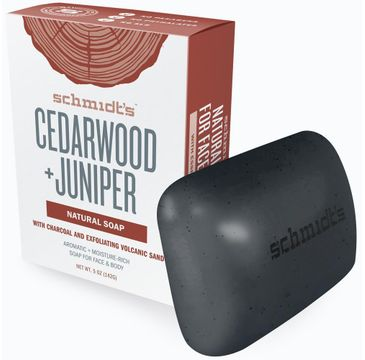 Schmidt's Natural Soap naturalne mydło w kostce Drewno Cedrowe i Jałowiec 142 g