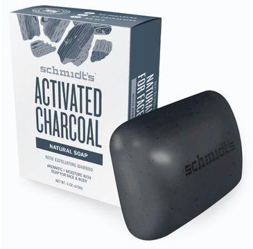 Schmidt's Natural Soap naturalne mydło w kostce Węgiel Aktywny 142 g