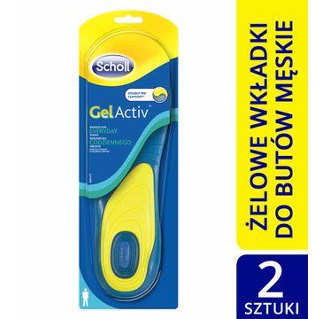 Scholl GelActiv wkładki do codziennego obuwia (męskie)