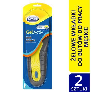 Scholl GelActiv wkładki do obuwia do pracy (męskie)