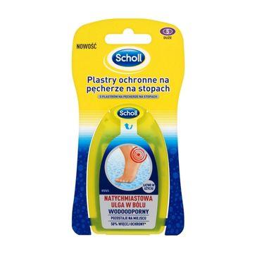 Scholl Plastry ochronne na pęcherze na stopach (5 szt)
