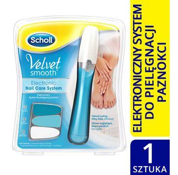 Scholl Velvet Smooth elektroniczny system do pielęgnacji paznokci