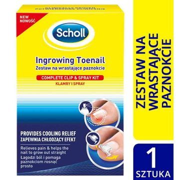 Scholl Zestaw na wrastające paznokcie