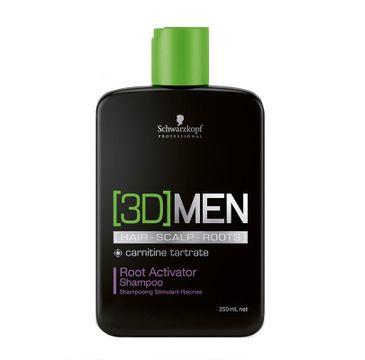 Schwarzkopf 3D MEN szampon aktywizujący do włosów (250 ml)