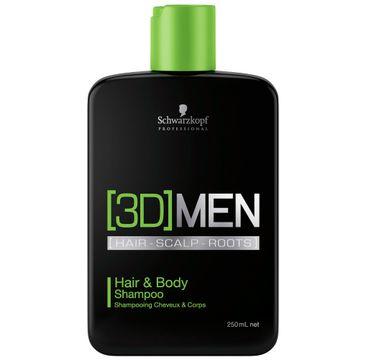 Schwarzkopf 3D MEN szampon do włosów i ciała 250ml