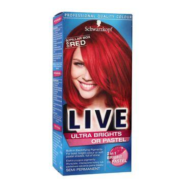 Schwarzkopf Live krem do włosów koloryzujący nr 092 ostra czerwień 80 ml