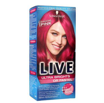Schwarzkopf Live krem do włosów koloryzujący nr 093 szokujący róż 80 ml