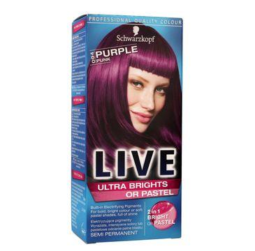 Schwarzkopf Live krem do włosów koloryzujący nr 094 purpurowy punk 80 ml